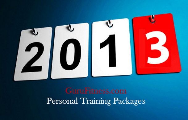 Personal training Packages  Page