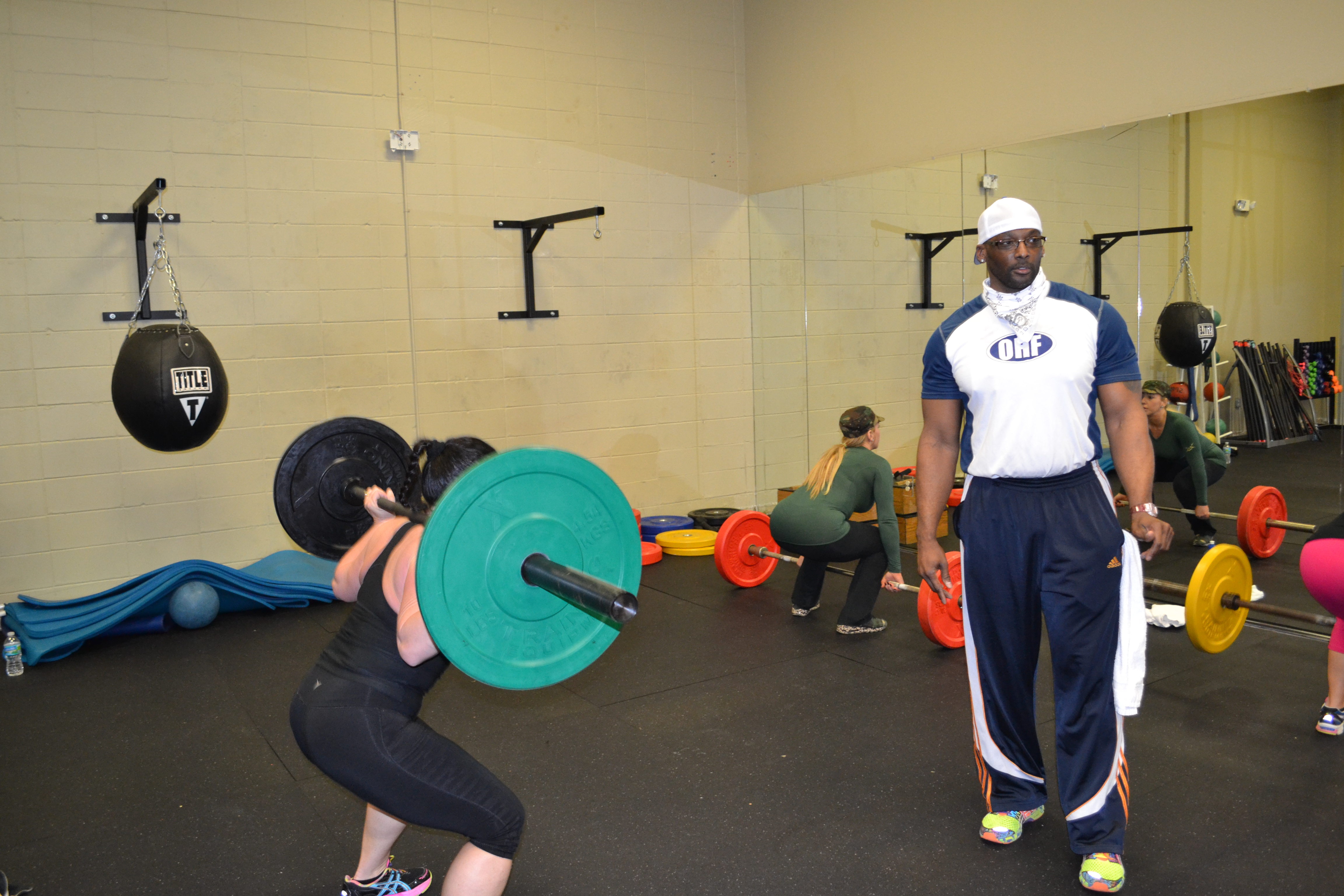Personal Training  Page