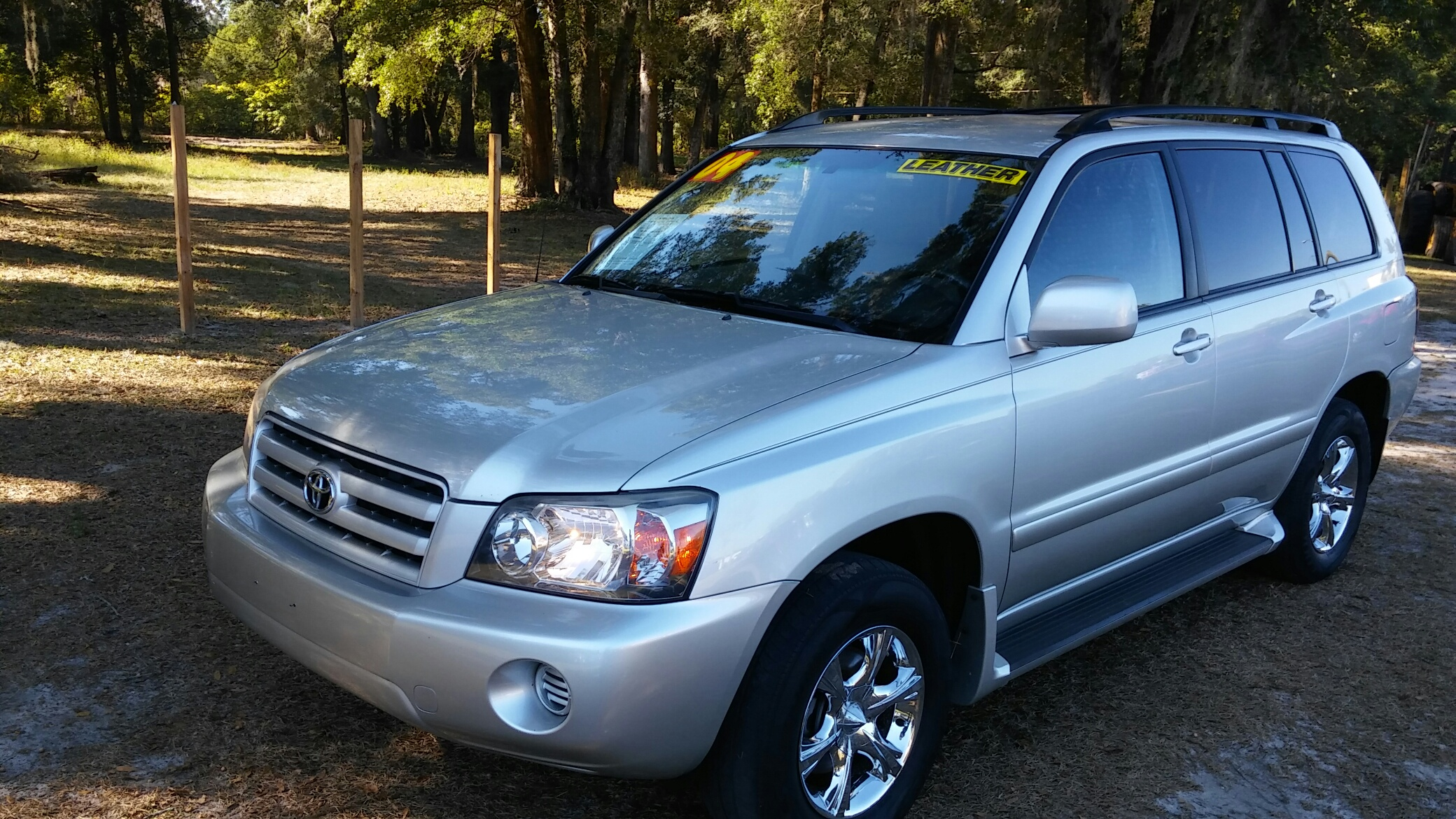 2004 Toyota Highlander 4x4 $1,800.00 down