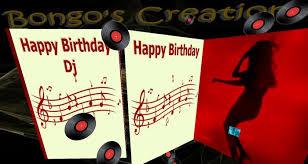 Birthday DJ Page