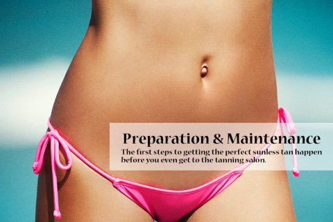 Sunless Tan Preparation & FAQs Page