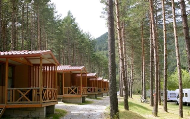 Cabins at New Life Camp