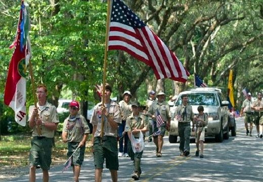 Proud To Be An American Boy Scout!