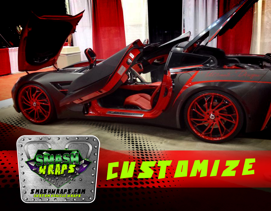 Customized vehicle wraps
