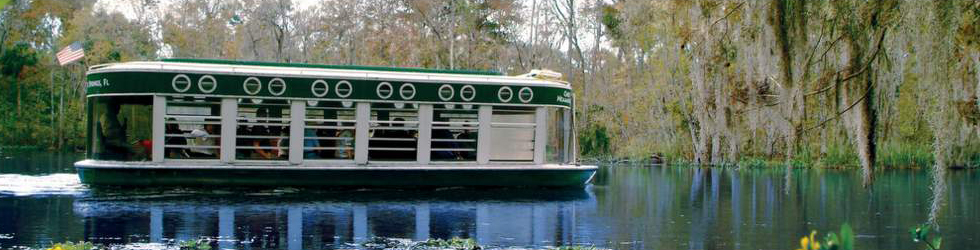 Silver Springs Glass Bottom Boat