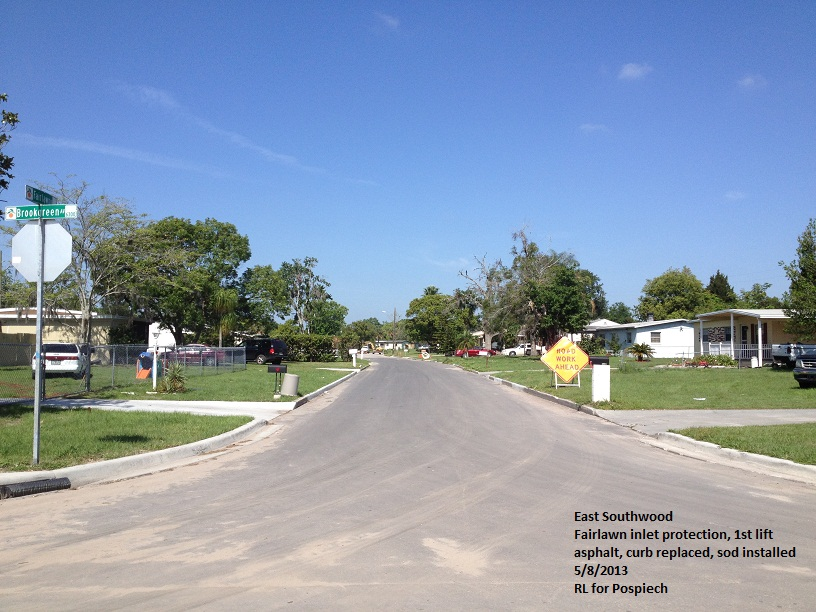 East Southwood Subdivision Gravity Sewer Rehab-Construction of 8,800 linear feet of 12