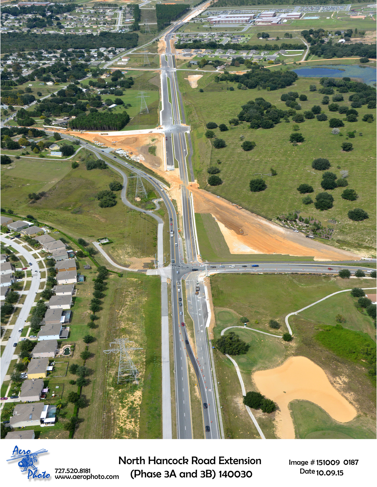 N. Hancock Road Aerial Taken 10/14/15