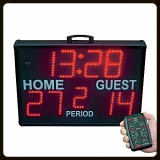 Edge SS-5000 Score Clock Page