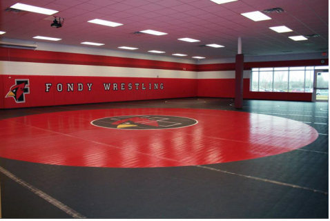 Wrestling Rooms & Custom Mats Page