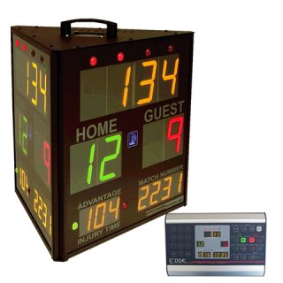 EDGE SS-3300 Three Sided Score Clock Page