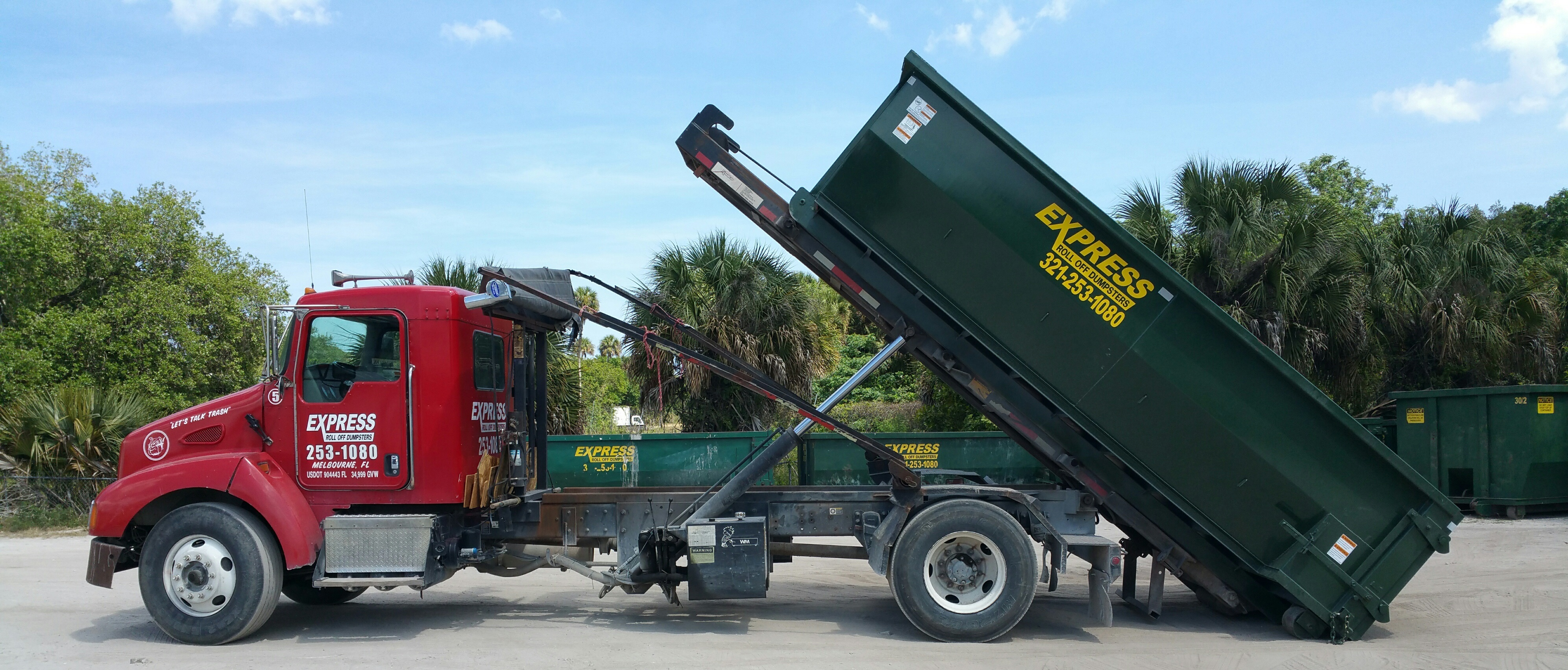 I need a dumpster rental in Melbourne fl