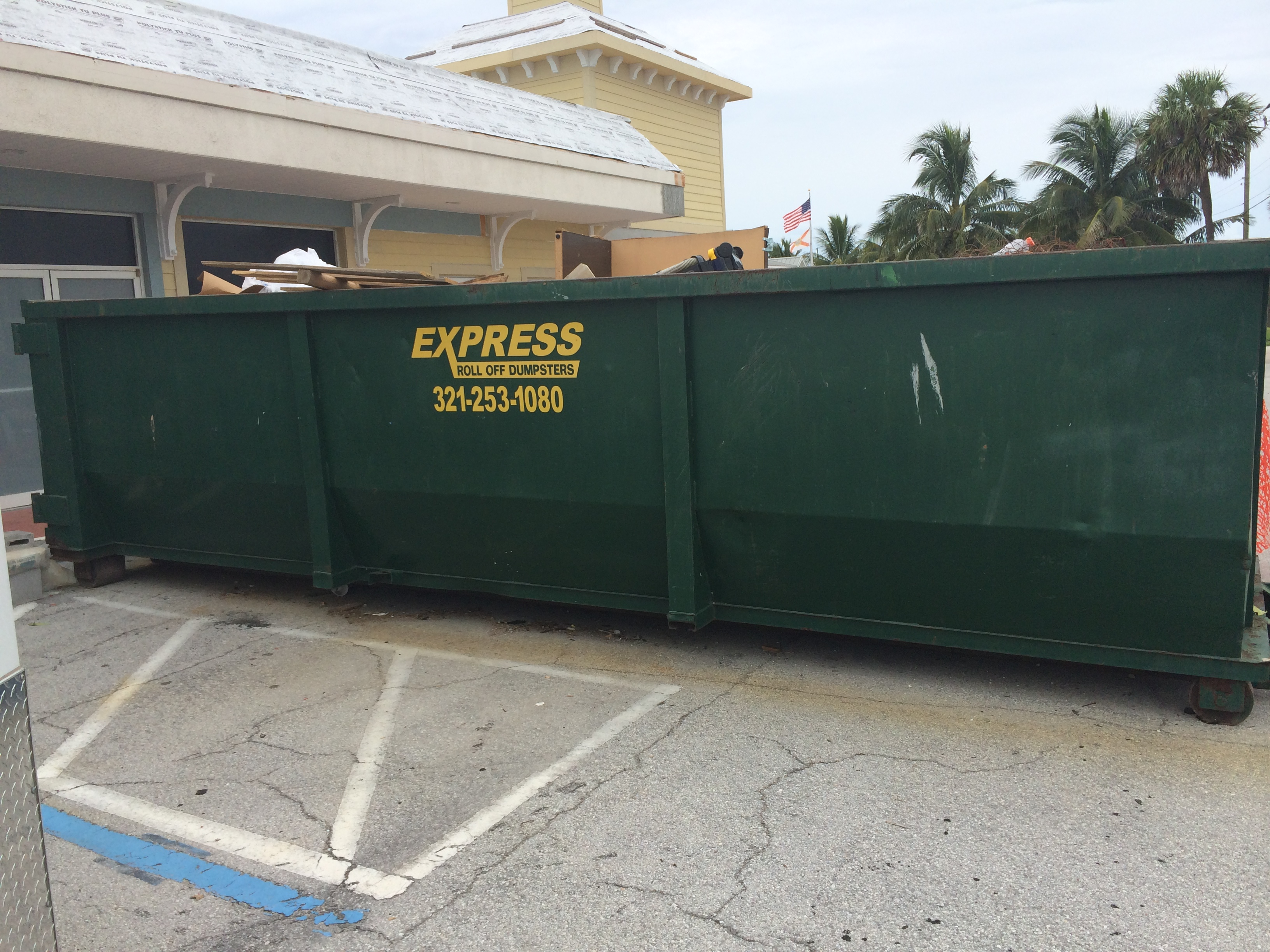 Contractor Dumpster Rental Satellite Beach FL