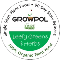 GrowPol Leafy Greens & Herbs 100% Organic Plant Food icon