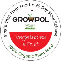 GrowPol Vegetables & Fruit 100% Organic Plant Food icon