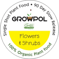 GrowPol Flowers & Shrubs 100% Organic Plant Food icon