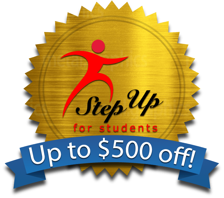 step up for students .org logo