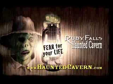 Ruby Falls Haunted Cavern Chattanooga Tennessee