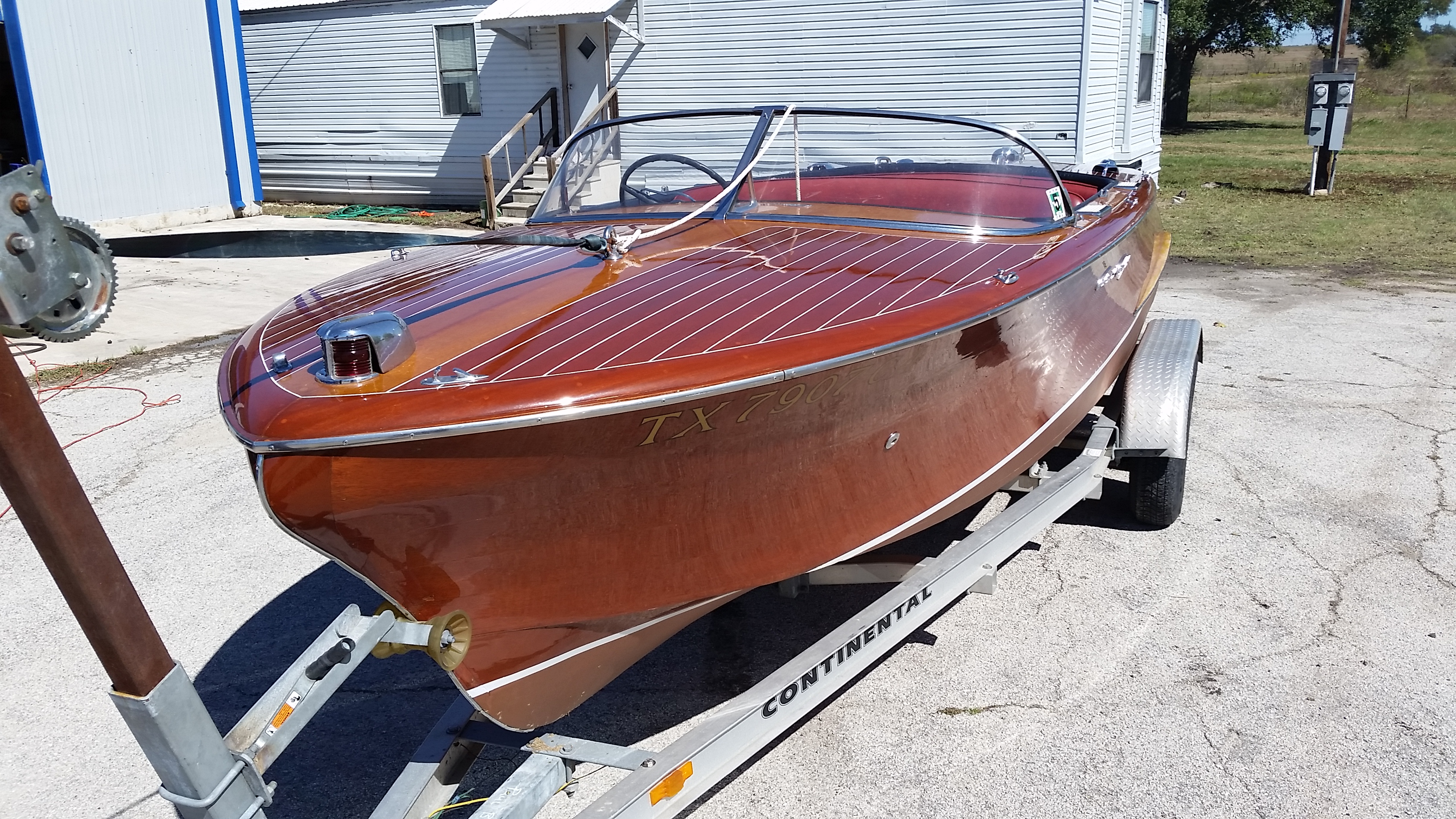 1955 Chris Craft Capri 21'
