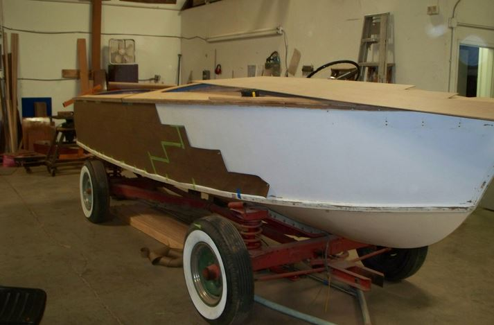 Chris Craft Kit Boat The Wooden Boat