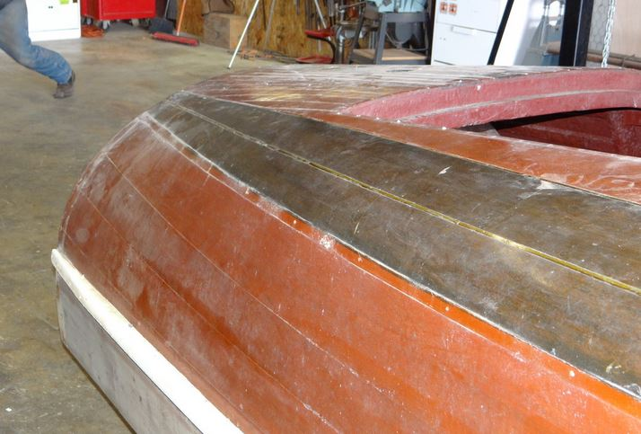 1939 19' Chris Craft Custom Barrel Back