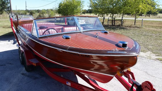Antique And Classic Wooden Boat Restoration In Texas