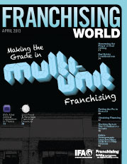 Azim Saju in Franchising World Magazine