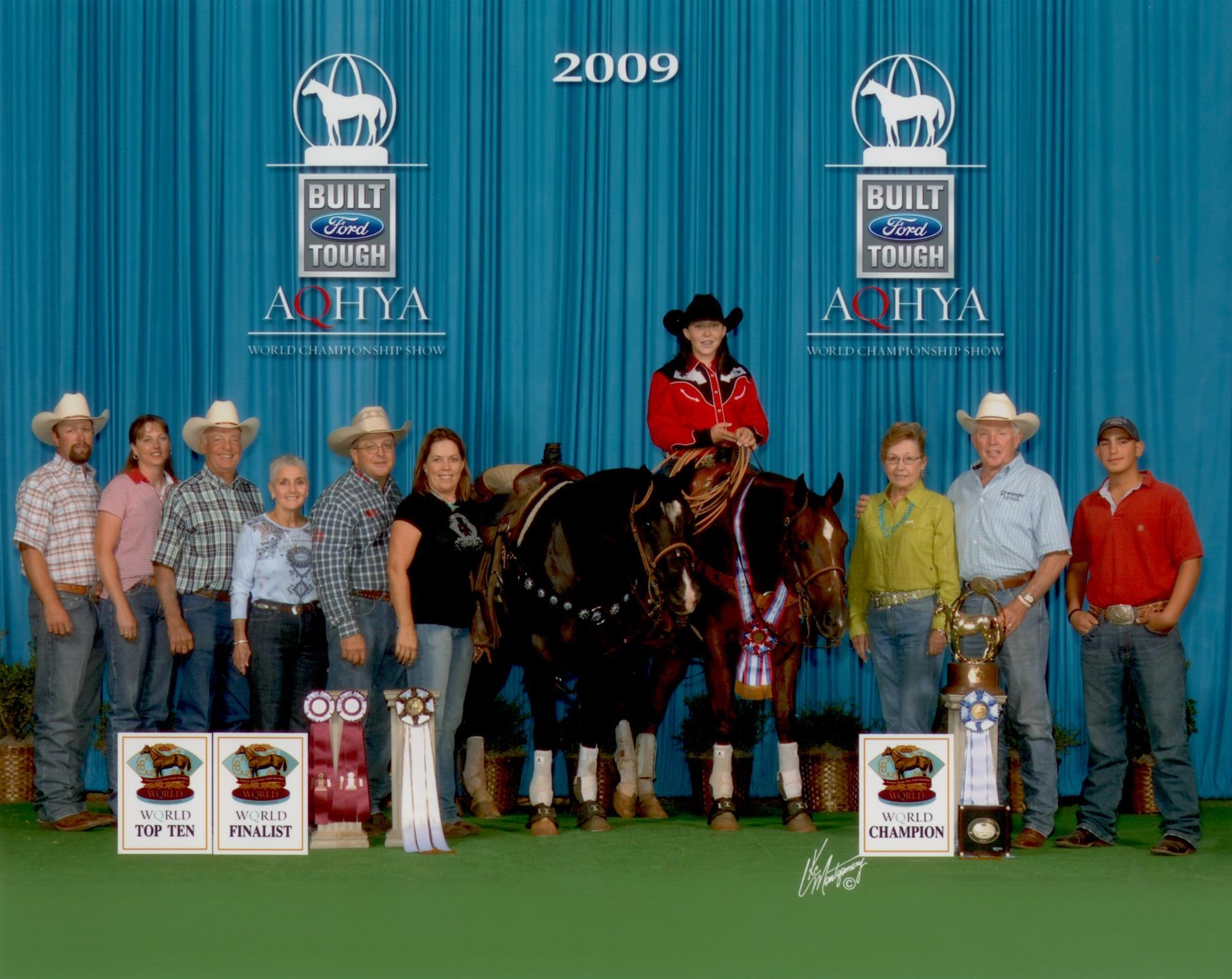 2009 AQHYA World Champion Heading Smart Shooter