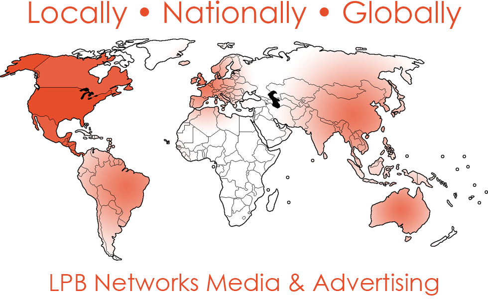 LPB Networks Coverage: Locally, Nationally, Globally
