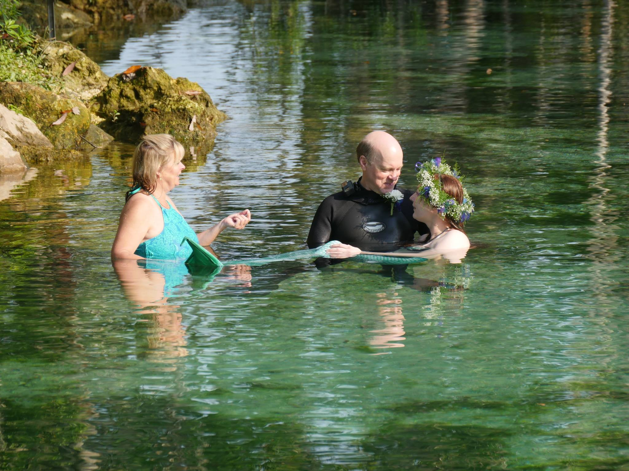 In Water Wedding!