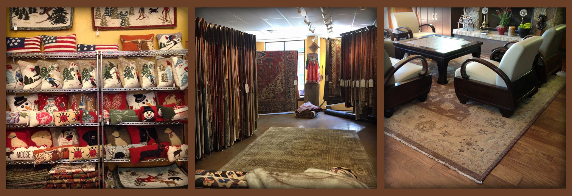 Large selection of Rugs and home accents accents