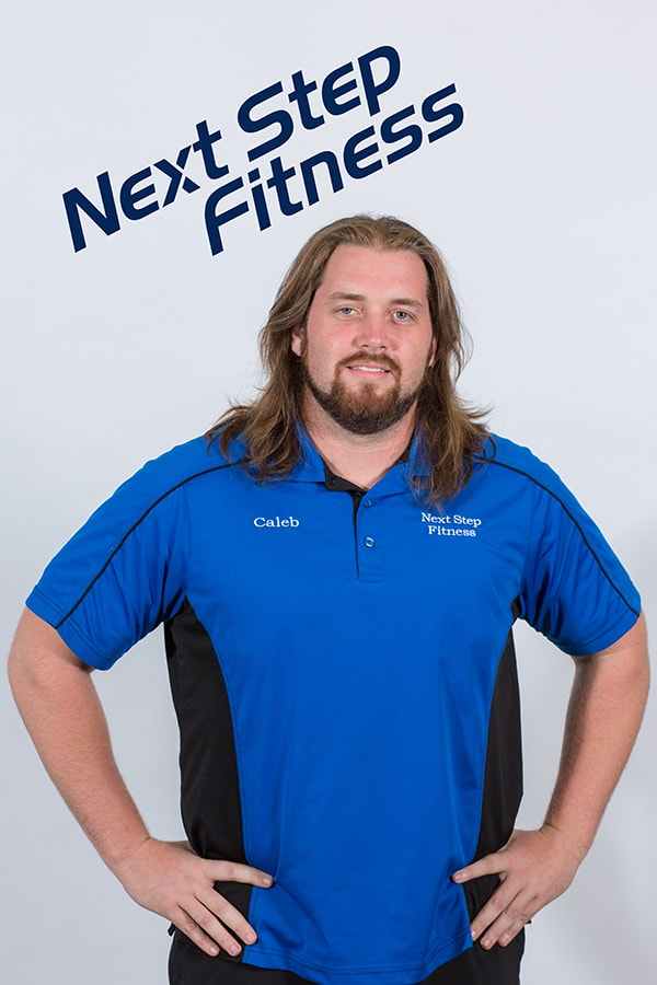 A photo of Next Stept Fitness team member Caleb West