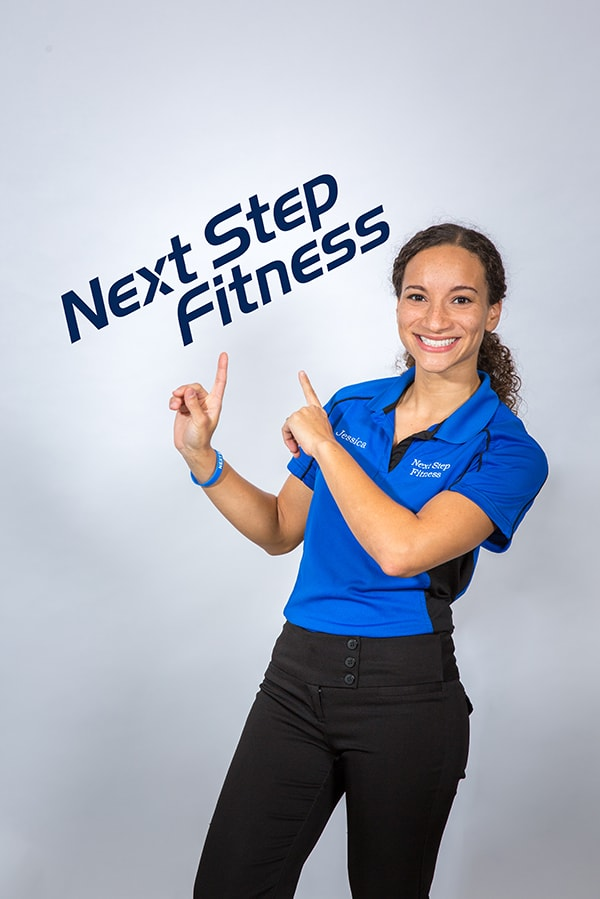 A photo of Next Stept Fitness team member Jessica Jackson