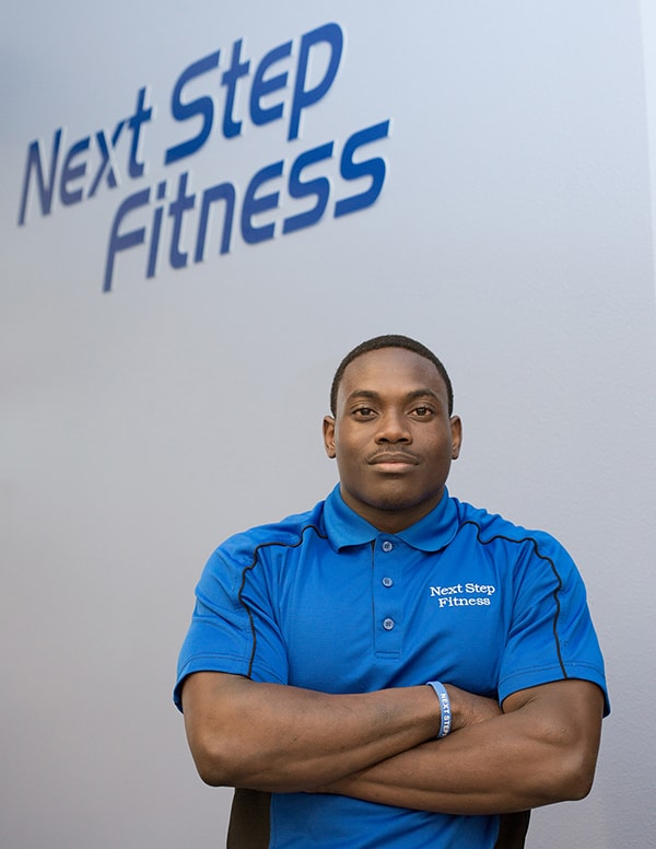 A photo of Next Stept Fitness team member Kylle Edwards