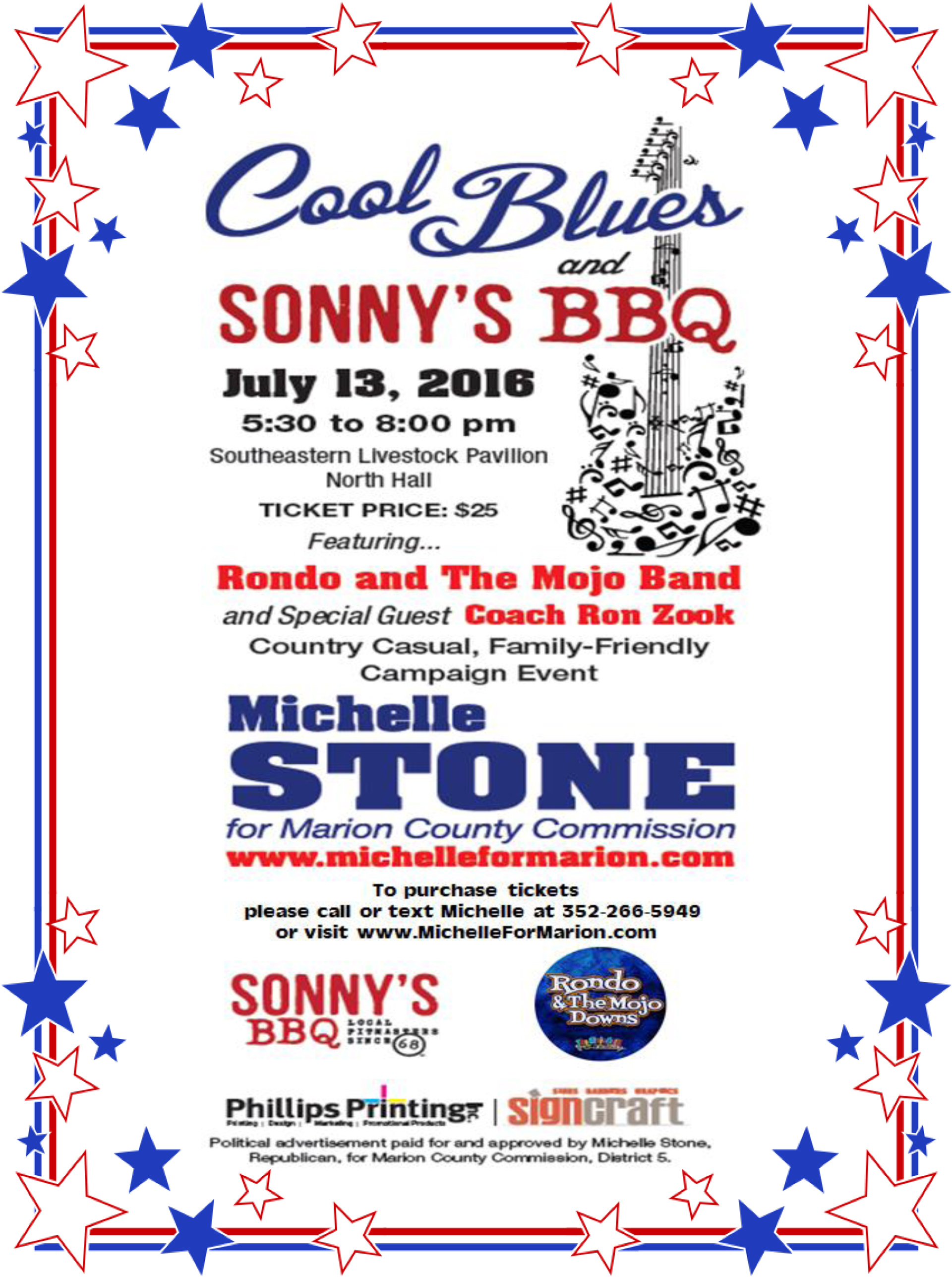 Cool Blues and Sonny's BBQ Event