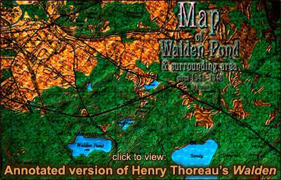 Map of Walden Pond