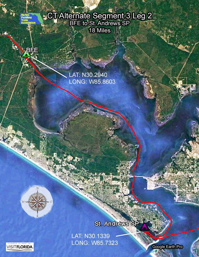 Coconut Cove Florida Map.Paddling Trails