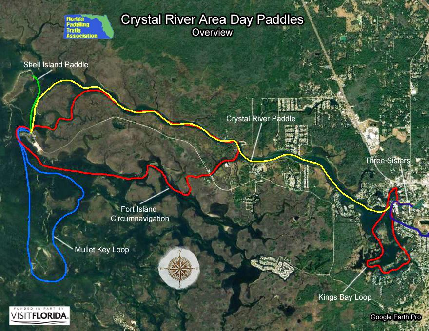 Florida Saltwater Circumnavigation Paddling Trail