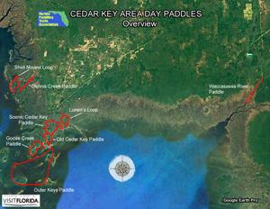 Florida Saltwater Cirnavigation Paddling Trail on