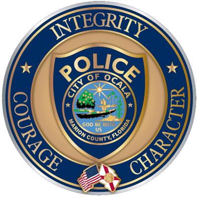 Ocala Police Department Badge