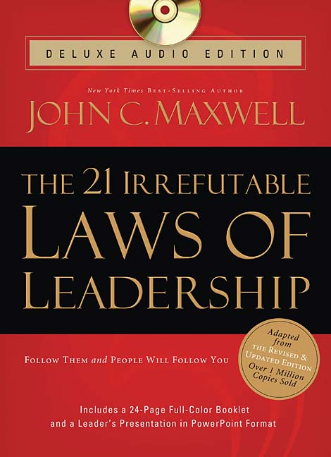 John C. Maxwell: The 21 Irrefutable Laws of Leadership book cover