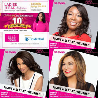 Ladies That Lead Conference 2019 Poster