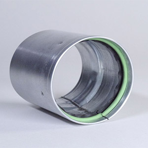 Dryer Vent Coupling Sealed