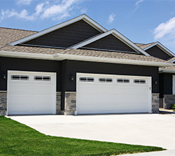 Traditional Steel Garage Door