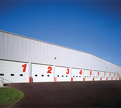 Sectional Steel Commercial Door