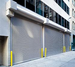 Rolling Steel Commercial Door