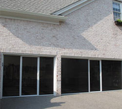 Lifestyle Opening Garage Door Screen