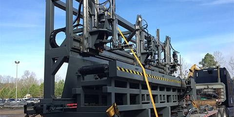 Railroad Cross Tie Equipment, Industrial Power