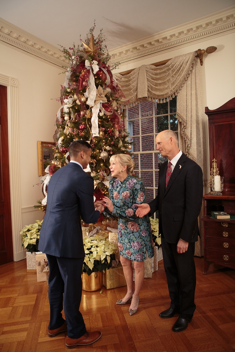 Governor Scott Christmas Party 2017