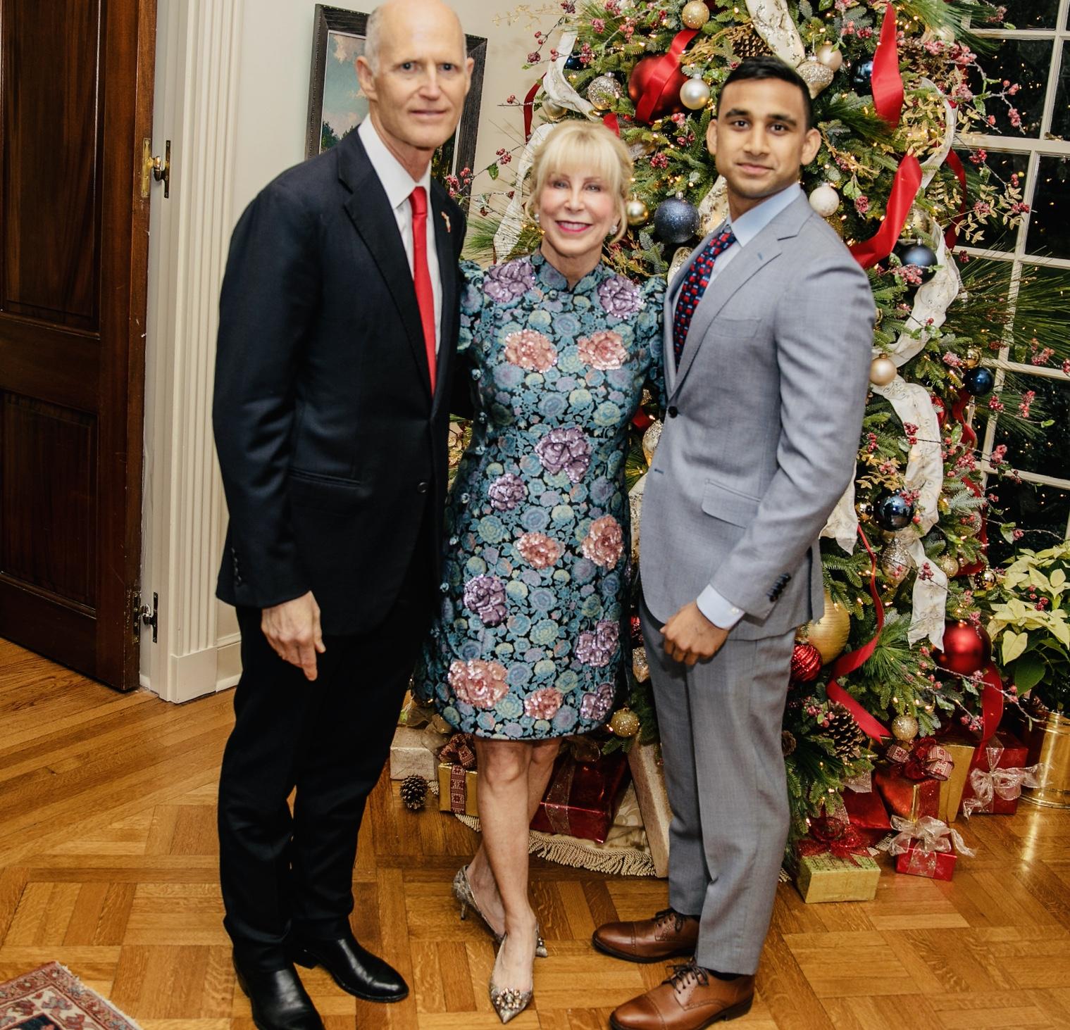 Governor (Senator- Elect) Rick Scott Christmas Party 2018