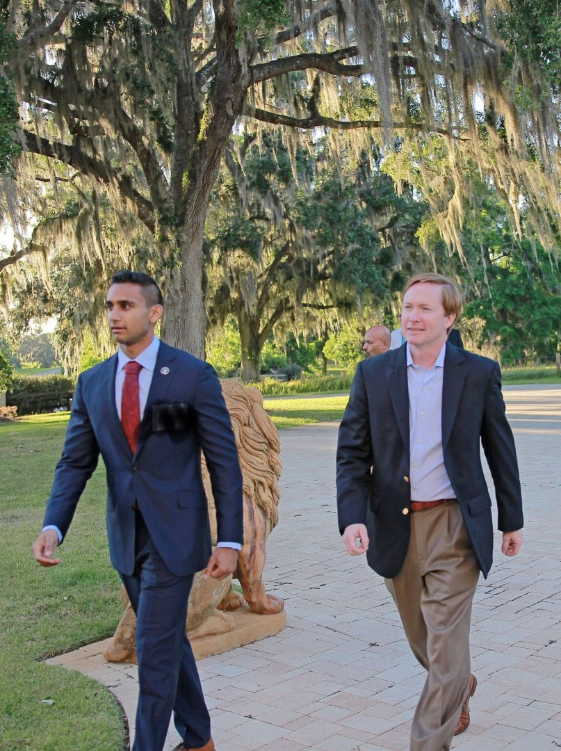 Dinner with Adam Putnam at my home